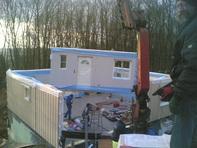 Einfamilienhaus in Stromberg-Schindeldorf, das Haus ist geliefert!