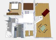 Ausbau eines Dachstuhls zur geräumigen Wohnung